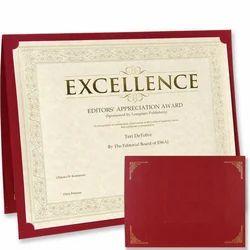 Rexine Certificate Folder