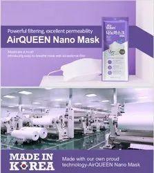AirQUEEN Nano Fibre Filter Mask
