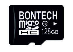 Bontech 128gb Memory Card With 6 Month Guarantee, 10, 80