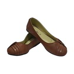 Ladies Leather Brown Belly, Size: 6 to 14
