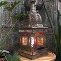 Cari Floor or Hanging Coloured Lamp