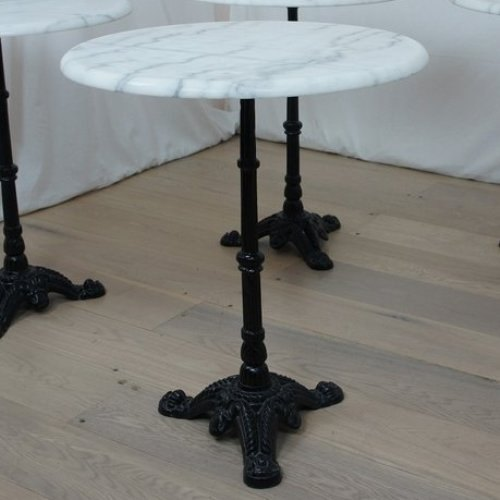 Black Cast Iron Table Base With Marble Top Rs 4200 Piece Id