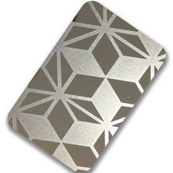Stainless Steel Etching Silver Mirror Sheet