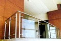 Nascent Indoor Stainless Steel Glass Railing