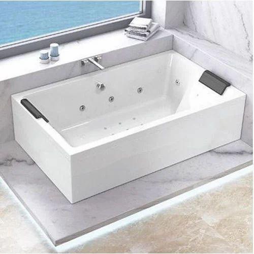 jaquar pmma kubix prime bath tub, bharmal sanitary centre | id
