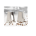 Metal Exports Salt / Pepper Shaker Set - Pyramid