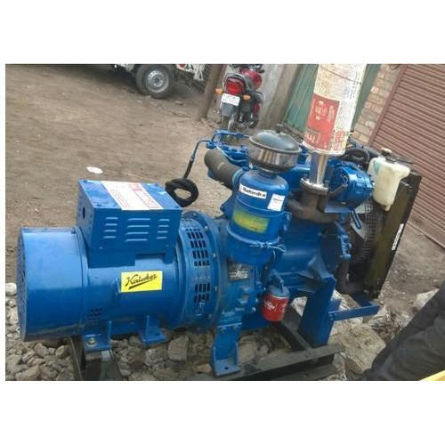 Kirloskar 10 Kva Three Phase Ac Diesel Generator Voltage 440 V Rs 110000 Unit Id 18522136912