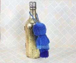 Blue Acrylic Bag Tassel