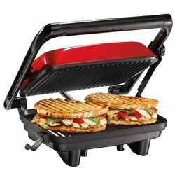 Steel Black Sandwich Maker for Home