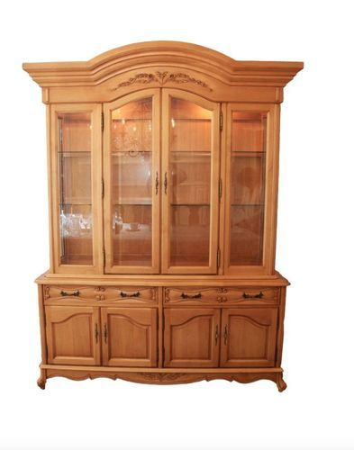 Fremarc Dining Room Sideboard Buffet China Cabinet