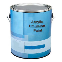 Acrylic Emulsion Paint, Packaging Type: Tin Can