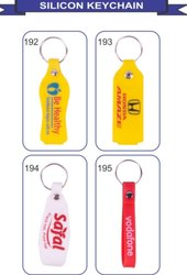 Plastic Silicon keychain, Packaging Type: Polybag