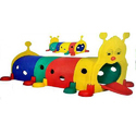 FRP Kids Caterpillar Tunnel