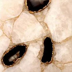 Capstona White Black Agate Tiles