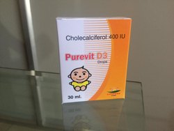 Purevit D3 Cholecalciferol 400 IU