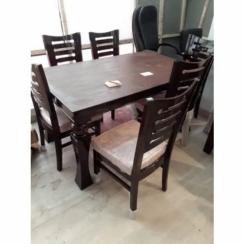 Wooden 3 Feet Fancy Dining Table For Home Rs 28000 Set K B Furniture Id 21135263962