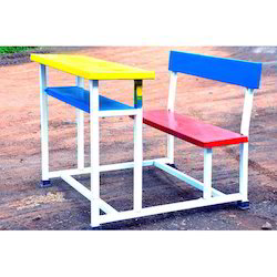Rectangular School Desk Bench