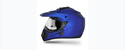 Off Road D V Dull Blue Helmet