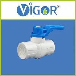 UPVC Ball Valve Threaded Long Handle