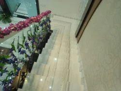 Makrana Staircase Marble