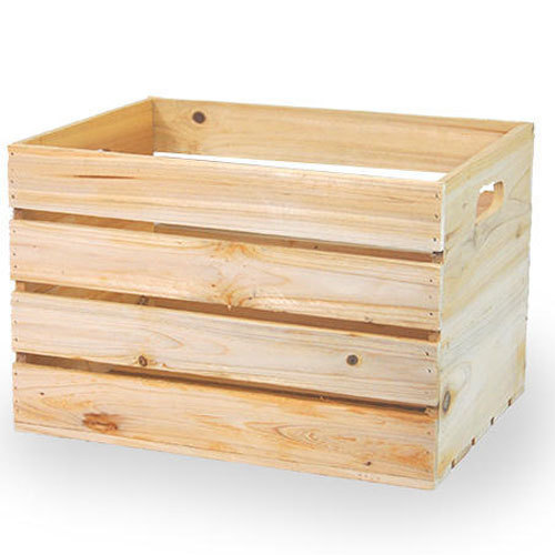 Rectangular Storage Wooden Crate