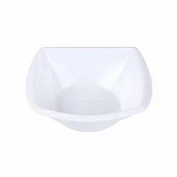 Square veg bowl plastic
