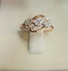Pressure Setting Diamond Ring