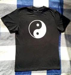 FengShui Yin Yang Symbol Cotton Bio Washed T-Shirt