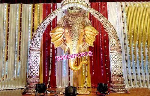 Srilankan Wedding Elephant Theme Decoration In Ragho Majra Patiala