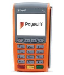 Payswiff Credit/Debit Card Swipe machine link any Savings/Current account,Life Time Free Rental