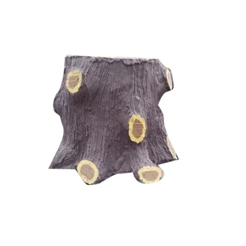 Cement Tree Trunk, for Outdoor