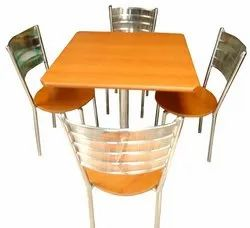 Single Pillar Dinning Table (S.S)