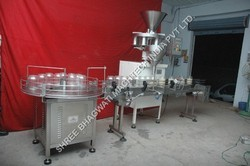 Bottle Granule Filling Machine, Filling Range: 10GM TO 1KG