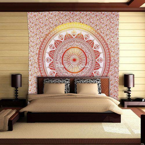 Mandala Floral Wall Tapestries
