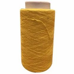 Mustard Yellow Dyed Cotton Yarn