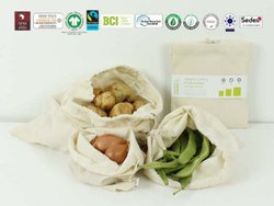 Cotton Sustainable Veg Bag