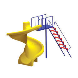 Children Spiral Slide