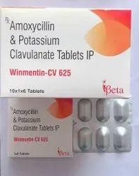 Winmentin CV Amoxycilin & Potassium Clavulanate Tablets IP