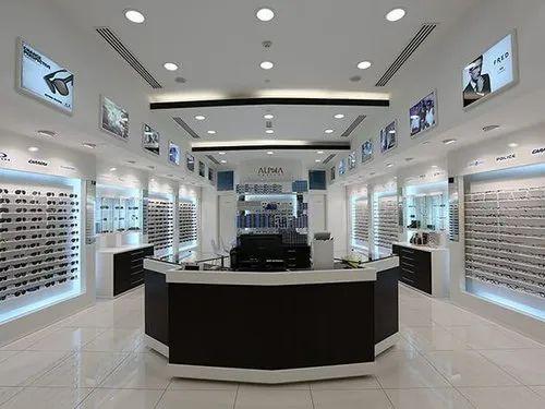 Optical Showroom Designing Services In Banglore, Departmental Store Interior