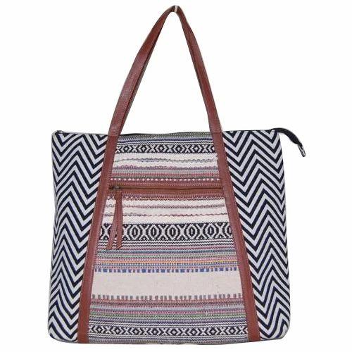 efb0a3bac4f3 Plain Jacquard Faux Leather Bags