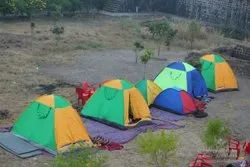 Dome Polyester Camping Tent On Rent In Indore