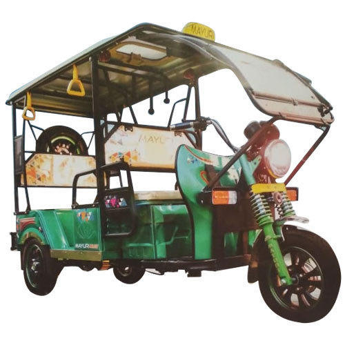 Mayuri Deluxe Electric E Rickshaw, Charging Time: 9-10 Hours