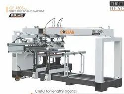 THREE ROW BORING MACHINE