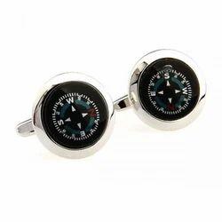 3D Compass Cufflink