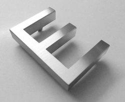 90 mm Stainless Steel Letter