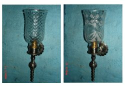 2 Down Glass wall light, For Home, 220