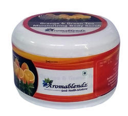 Aromablendz Orange And Green Tea Body Scrub