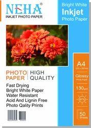 NEHA Photo Paper 130gsm  A4