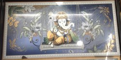 Vinayagar On Swing Picture Wall Tiles