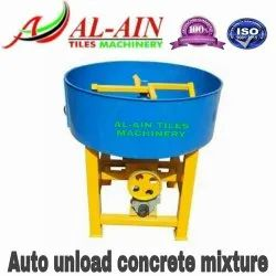 Auto Unload Pan Mixer